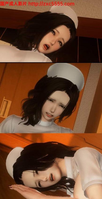 国内大神-王子自制3D新系列作品第2弹:白丝护士淑女【制服丝袜】